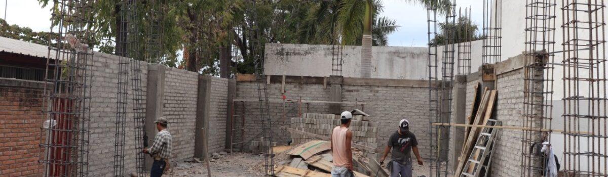 Avanza un 40% construcción de centro cultural en Escuinapa.