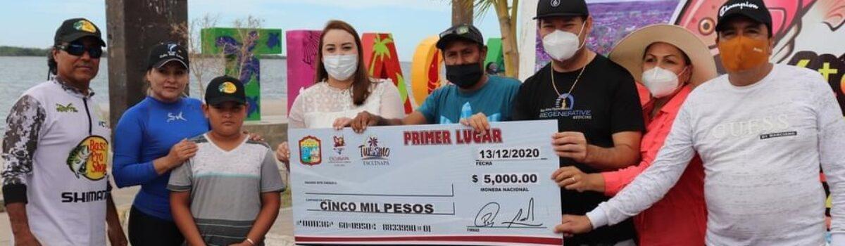 Gana equipo de Méndez Tours Cuarto Torneo de Pesca Familiar 2020.