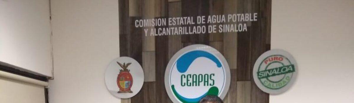 El Alcalde Emmett Soto Grave gestiona ante la Comisión Estatal de Agua Potable y Alcantarillado de Sinaloa (CEAPAS) agua potable para las y los ciudadanos escuinapenses.