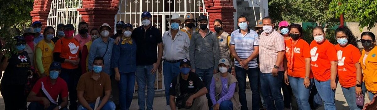 Décima tercera jornada de Servicios Públicos Municipales en Colonia Morelos.