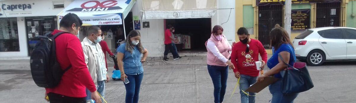 Inicia gobierno municipal preparativos para Verbena Navideña.