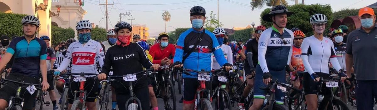 Con rodada ciclista se decreta Día Municipal de la Bicicleta.