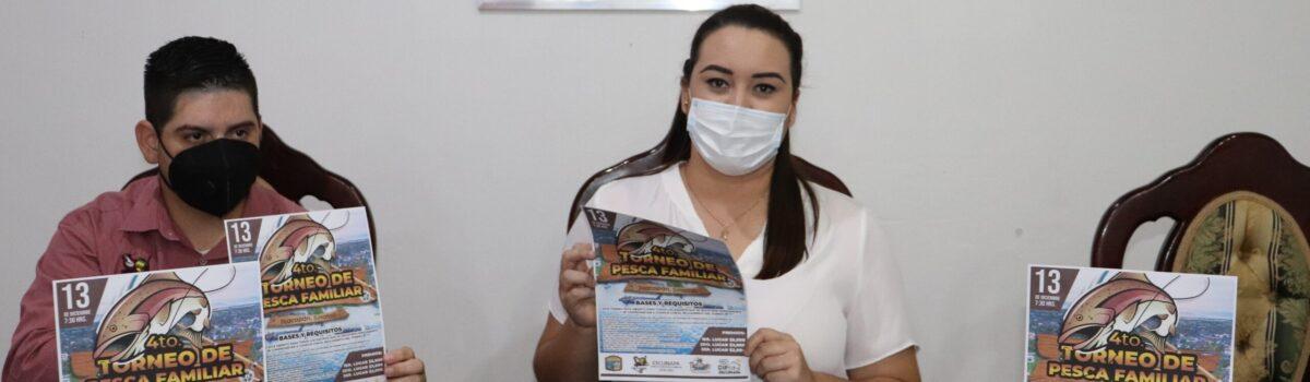 Gobierno municipal invita a Cuarto Torneo de Pesca Familiar en el puerto de Teacapán.