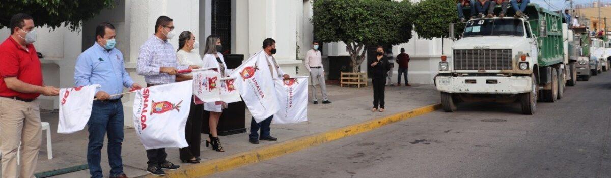 Inaugura Alcalde Dr. Emmett Soto Grave, Jornada Nacional de Lucha Contra el Dengue, Zika y Chikungunya en Escuinapa.