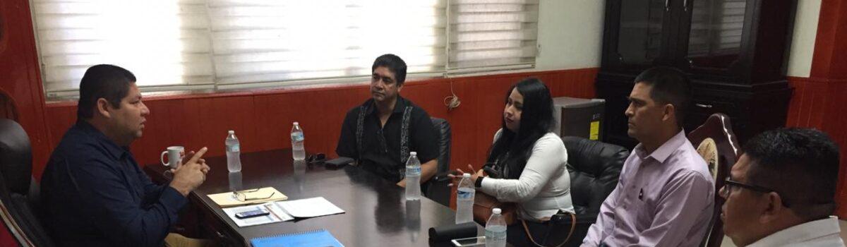 Atiende alcalde a Vicefiscalía Zona Sur y Ministerio Público.